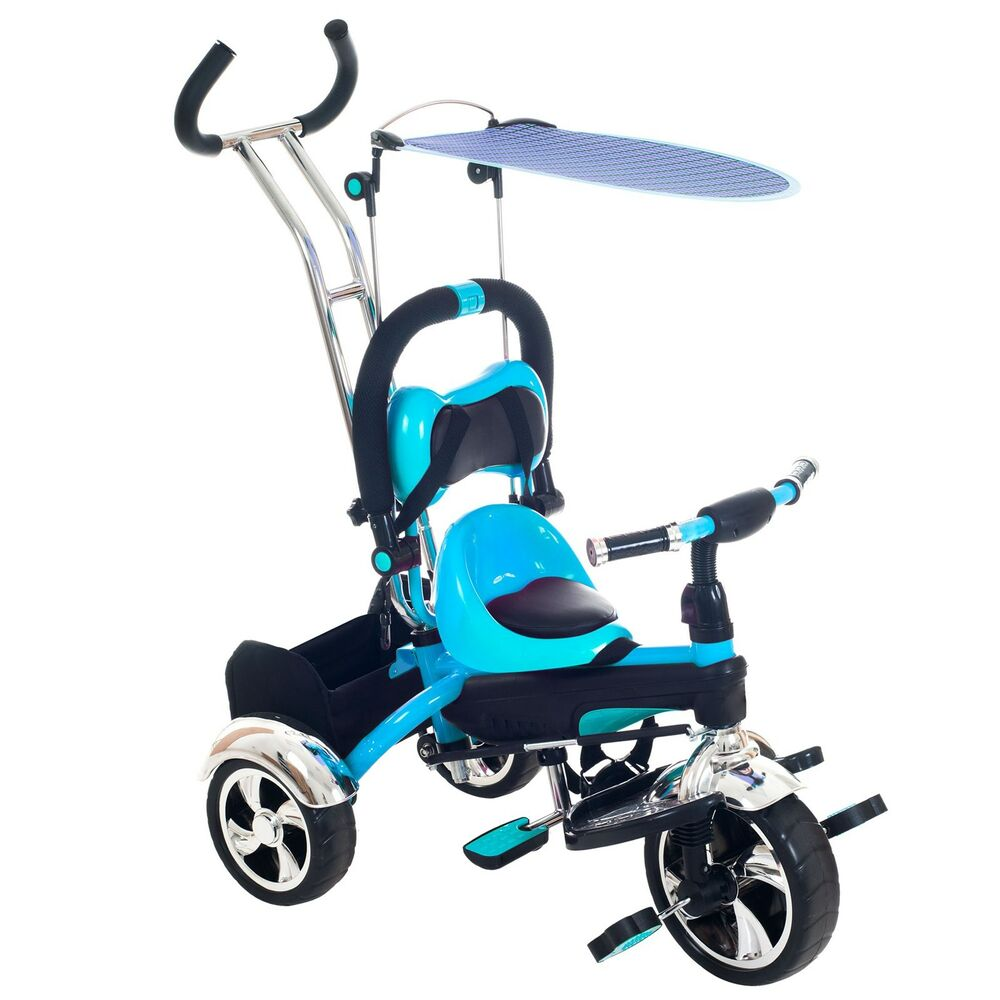 2 In 1 Stroller Tricycle With Canopy Transforms For Your