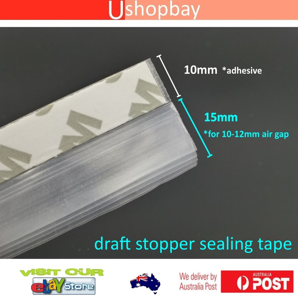 Draught Excluder Draft Stopper Sealing Tape For Door