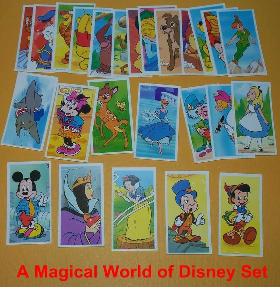 Mickey Mouse World Tour Trading Cards