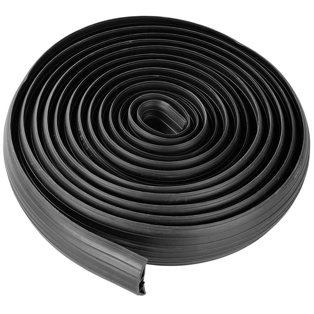 29 5 ft 2 cable wire extension cord drop over floor cover protector ebay. Black Bedroom Furniture Sets. Home Design Ideas