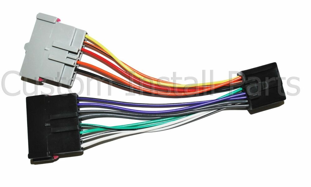 Car Stereo Radio Install Wiring Harness Wire Adapter Get