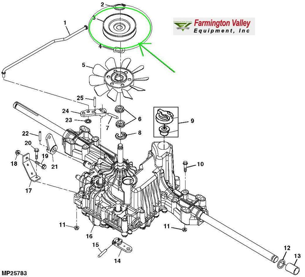 John Deere La125 Wiring Diagram - 24h schemes on