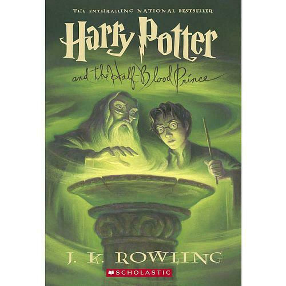 harry potter and the halfblood prince by jk rowling