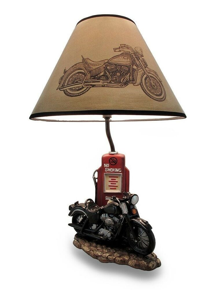 Old Fashioned Gas Pump Retro Bike Motorcycle Desktop Table ...