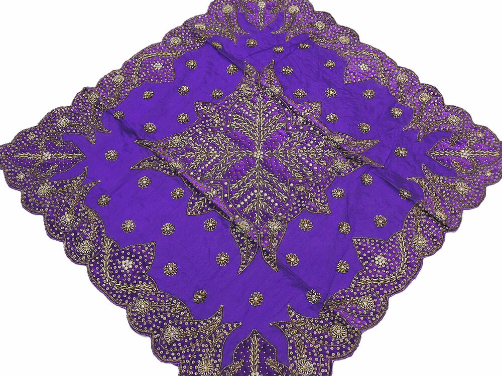 Fancy Table Linens Purple Tablecloth Decorative Designer