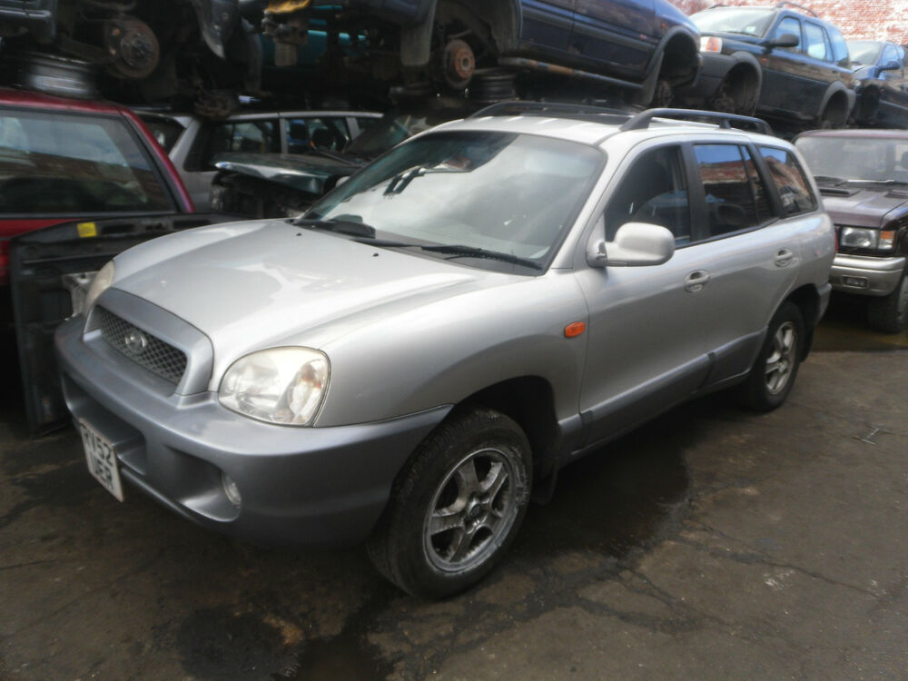 2002 hyundai santa fe 2 7 v6 automatic petrol manual breaking spares parts ebay. Black Bedroom Furniture Sets. Home Design Ideas