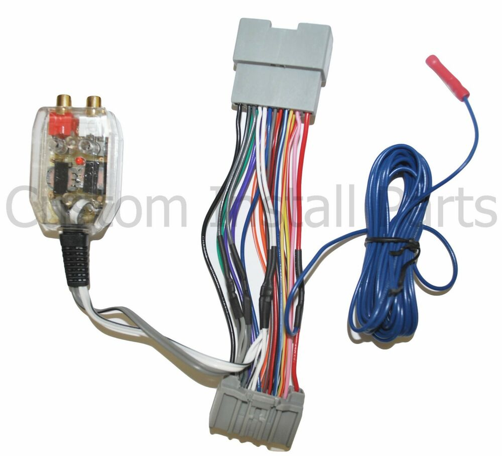 factory radio add a amp amplifier sub interface wire ... 200 amp wire diagram amp wire harness