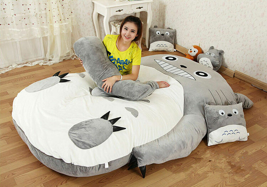 New My Neighbor Totoro Huge Cute Bed Sleeping Bag Sheet
