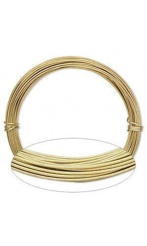 Anodized ALUMINUM CRAFT Jewelry WIRE 20 ga GOLD 45 ft ~ 20 ...