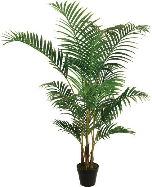 Palm Plants For Indoors: Best Artificial 5ft 150cm ARECA PALM Tree Tropical PLANT