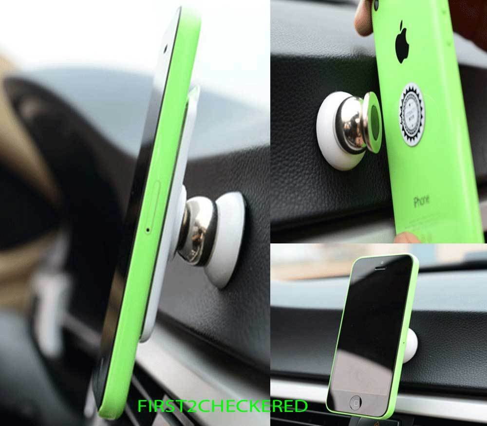 Magnetic Car Cell Phone Holder Mount Dash 360° Rotating