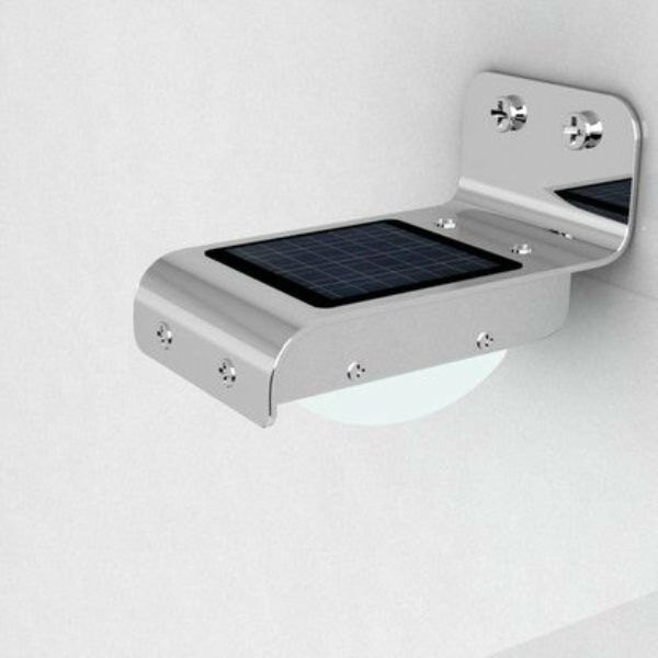 solar power 16 led security lamp motion sensor light. Black Bedroom Furniture Sets. Home Design Ideas
