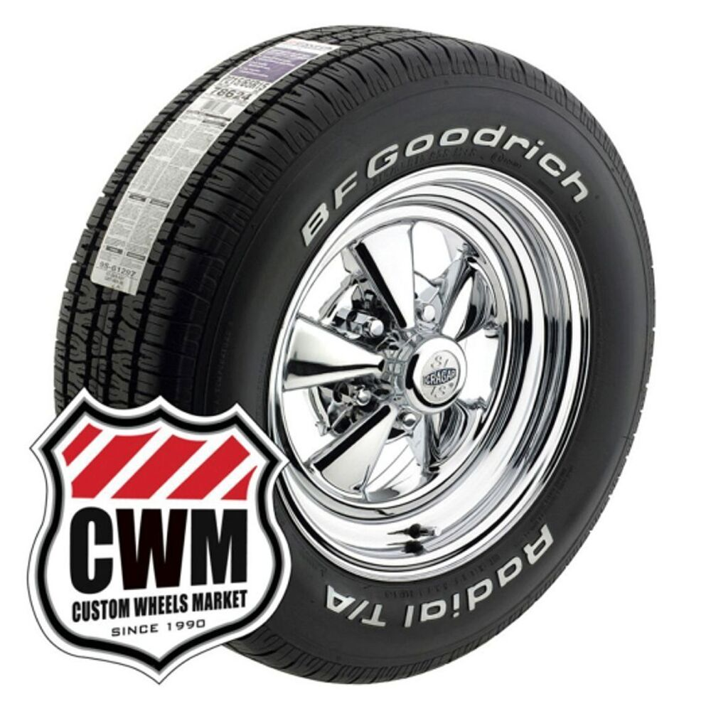 15 inch cragar s s wheels rims tires 235 255 60r15 for chevy chevelle 66 72 ebay. Black Bedroom Furniture Sets. Home Design Ideas