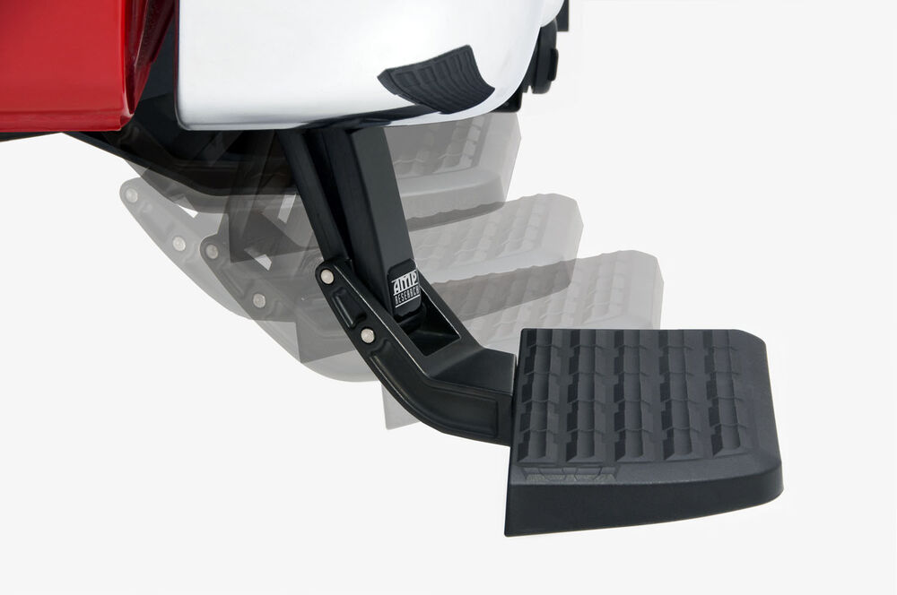 Amp Bedstep Retractable Bed Step For 99 14 Ford F 150 F150