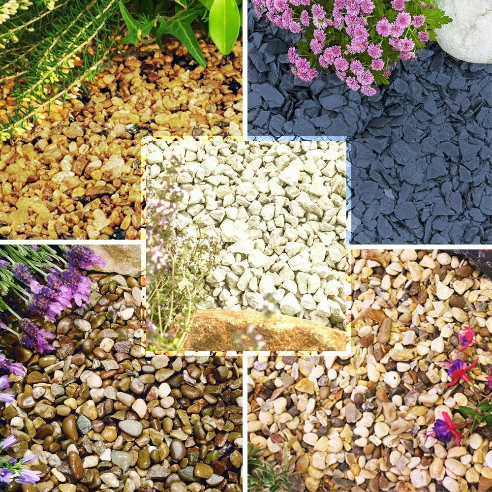 1-30kg Gravel Chippings Deter Weed Garden Path Patio