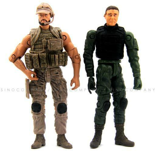 Military Toys Elite Force 1 18 : Bbi elite force special ops navy soldier