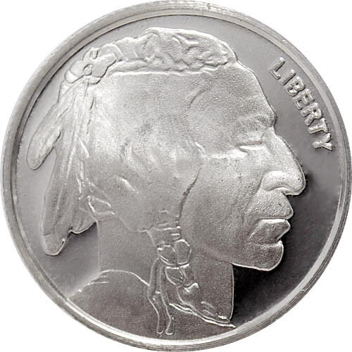 1 4 Oz Hm Buffalo Silver Rounds 6 25 Oz Total 999 Fine