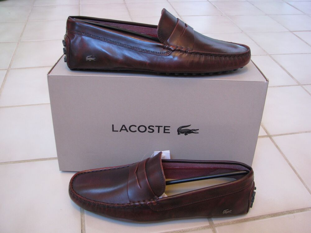 Lacoste moccasins - 16 results from brands Lacoste, products like Lacoste Men's Concourse Moccasin Drivers - Tan/Beige , Lacoste Men's Dreyfus, Size: M, Blue, Lacoste Piloter Men's Slip-On Driving Moccasin Loafers, Shoes.