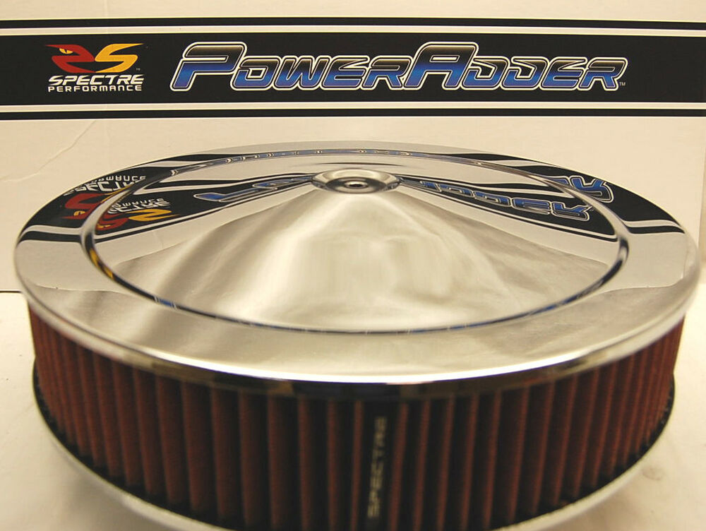 Low Profile Air Cleaner Base : Spectre chrome air cleaner red washable k n style