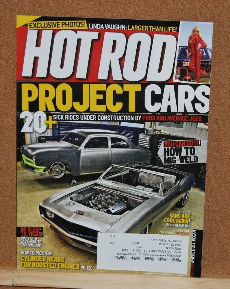 Project Cars Hot Rod Garage : Hot rod magazinejuly project cars very good