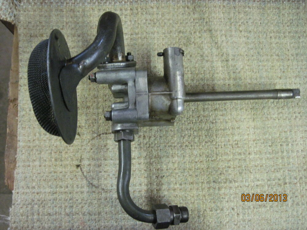 Satoh Tractor Hydraulic Pump : Satoh s tractor oil pump with pick up tubes used ebay