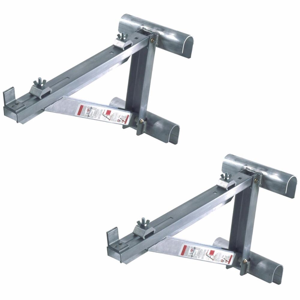 Werner Ac10 14 02 Short Body Aluminum Ladder Jacks Set Of