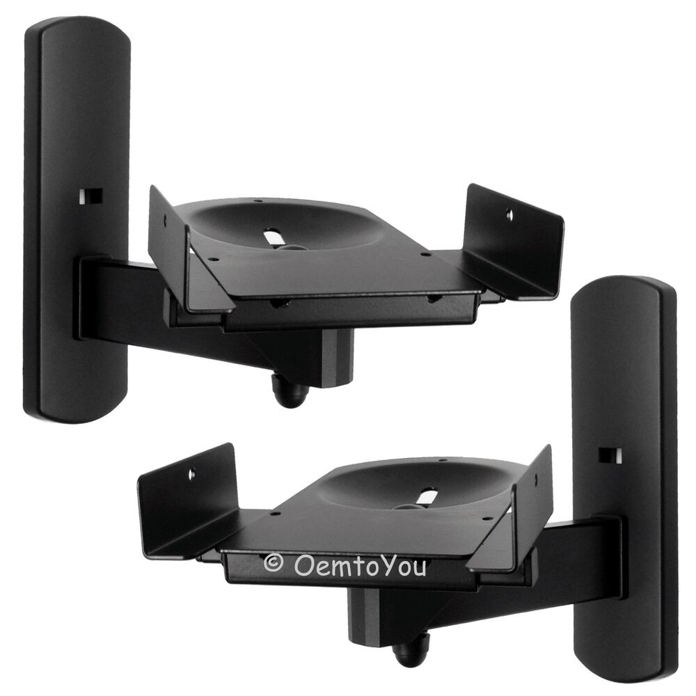 Side Clamping Speaker Wall Mounts Bracket For Surround