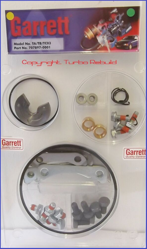 genuine turbocharger rebuild service repair kit garrett t3. Black Bedroom Furniture Sets. Home Design Ideas