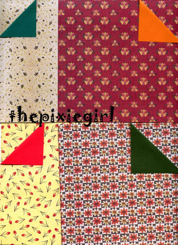 origami paper beautiful double sided victorian floral flower print 15cm