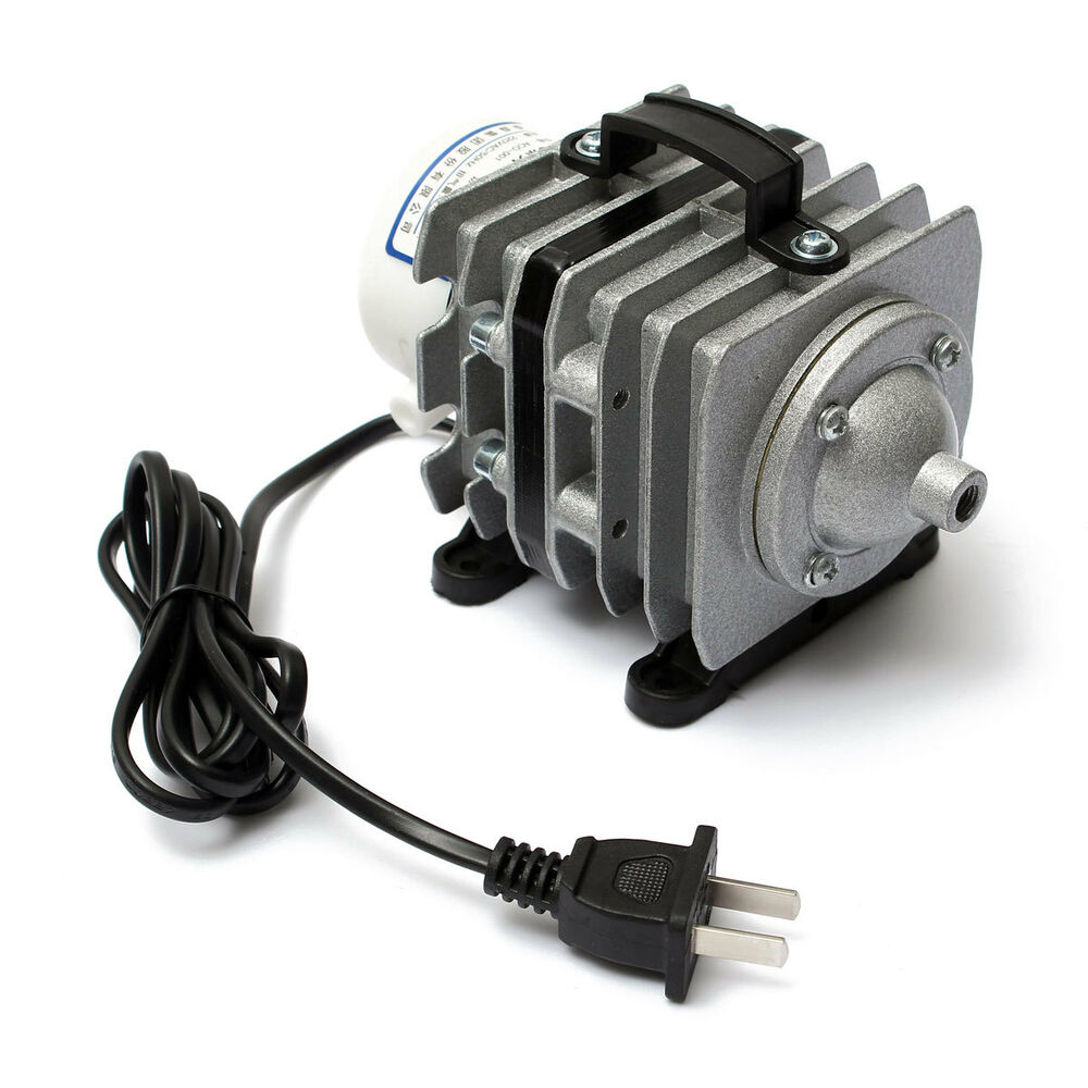 Electromagnetic air pump for aquarium fish pond hydroponic for Hydroponic air pump