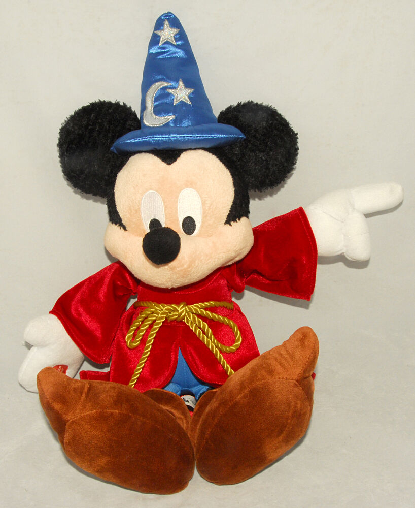 Mickey Mouse Toys : Disney mickey mouse sorcerers apprentice plush toy