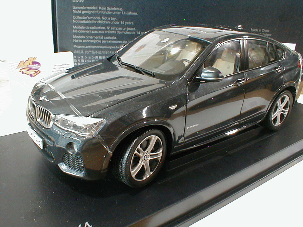 paragon bmw x4 suv 4 t rer baujahr 2015 sophistograu metallic 1 18 neu ebay. Black Bedroom Furniture Sets. Home Design Ideas