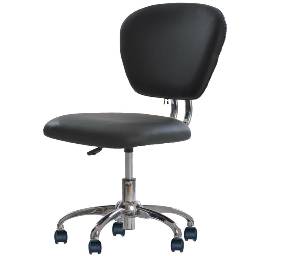 PU Leather Mid-Back Task Chair Office Desk Office Chair H20 | eBay