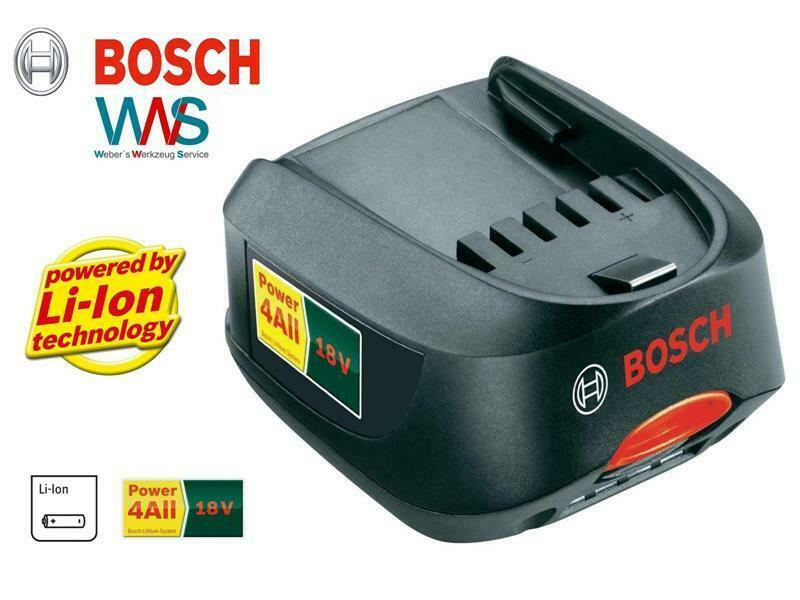 bosch original ersatz akku 18v li 2 0ah neu und ovp einschubakku lithium ion ebay. Black Bedroom Furniture Sets. Home Design Ideas