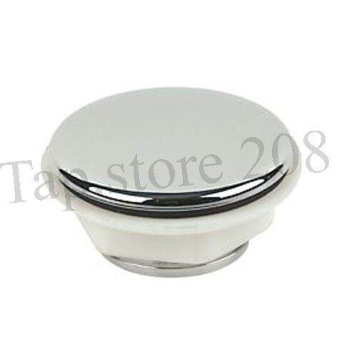 Sink tap hole cover cap chrome plastic ebay for 2 furniture hole cover