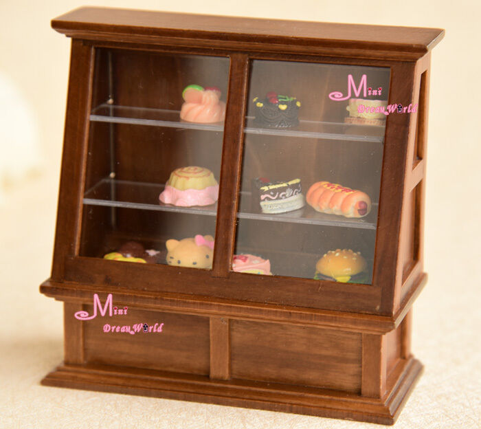 Free Shipping!1:12 Dollhouse Miniature Wood Shop Counter