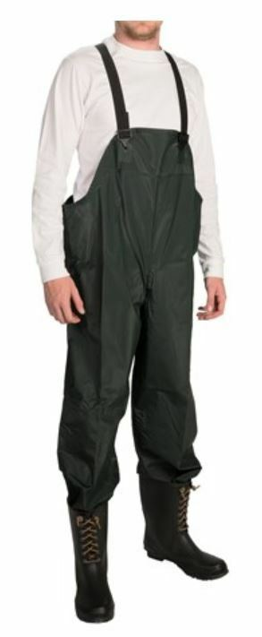 New 3xl m pvc waterproof mariner bib overalls pants for Waterproof fishing bibs