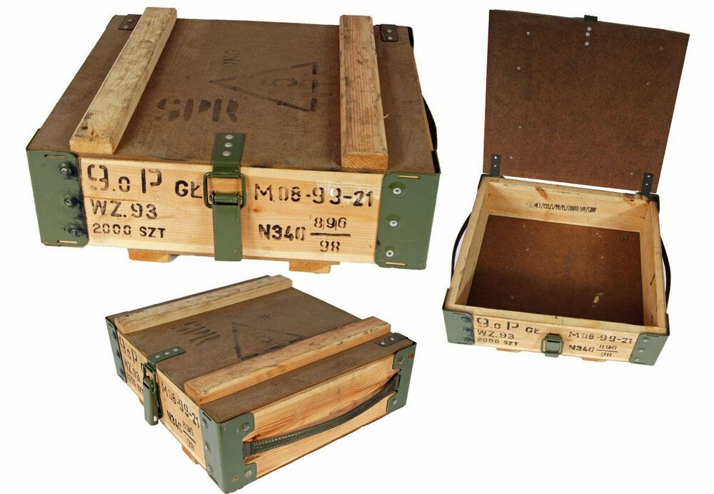Transport box wooden box used shabby chic box wine box ebay for Uses for wooden boxes