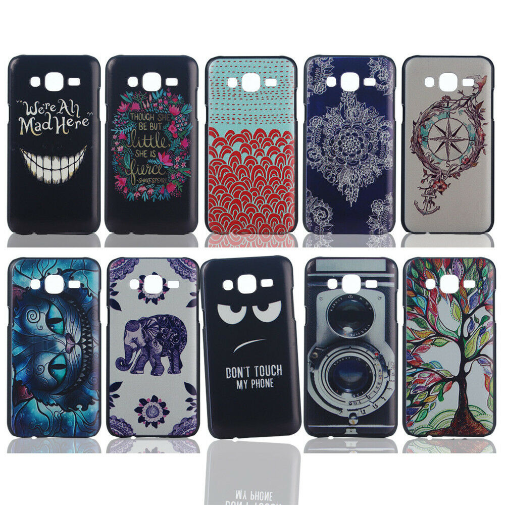 Case Design galaxy express phone cases : ... Thin Hard PC Back Case Cover For Samsung Galaxy J1 /J5 /J7 /E7 : eBay