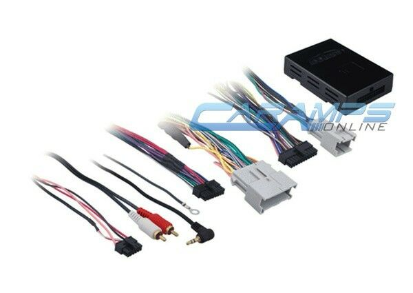 Factory Wiring Harness Adapter : Car stereo radio replacement factory interface w wiring