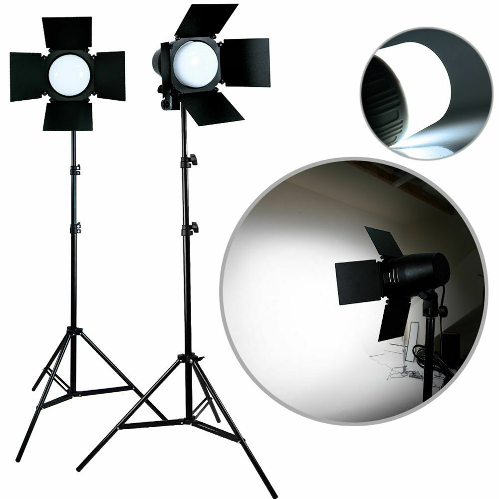 Led Studio Light Repair: Photo Studio Photography Light 2x LED Lighting Stand Kit