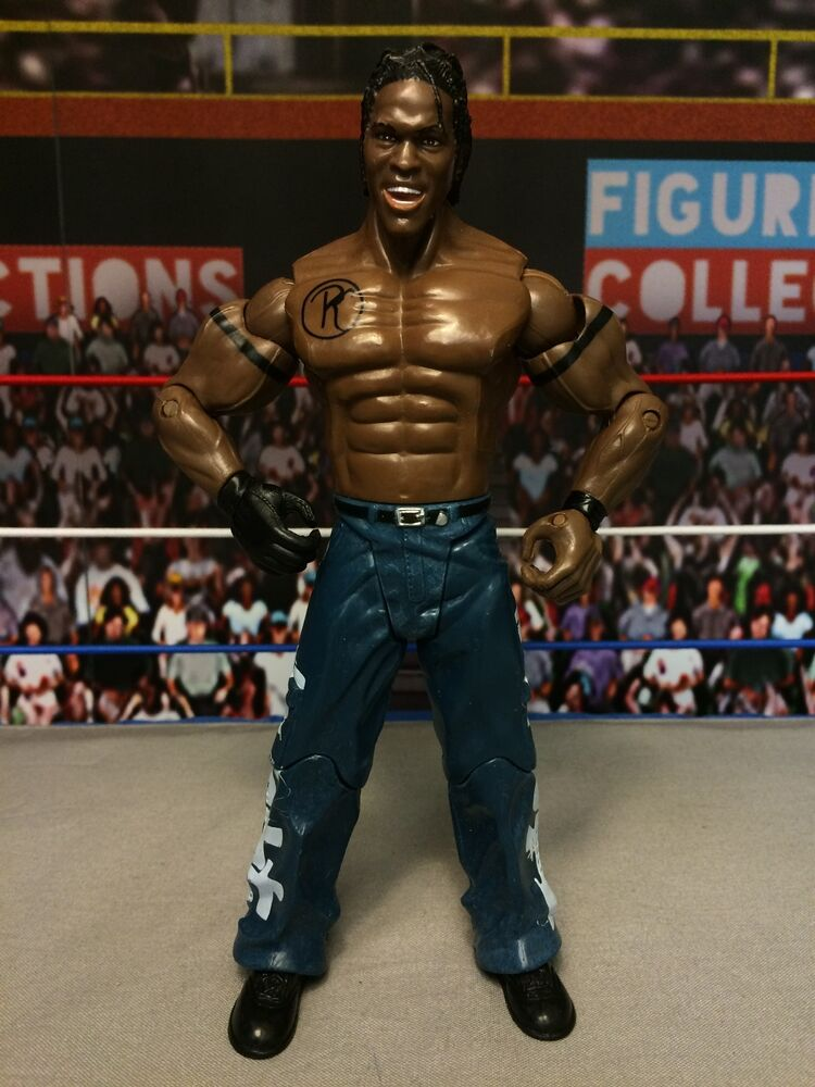Toys That Promote Aggression : Wwe wrestling jakks ruthless aggression series r truth