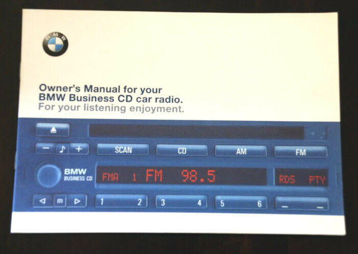 bmw business cd player radio stereo blaupunkt cd43 owner. Black Bedroom Furniture Sets. Home Design Ideas