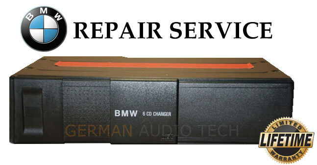 Wiring Diagram For Bmw Cd Changer : Bmw e z alpine disc cd changer player repair