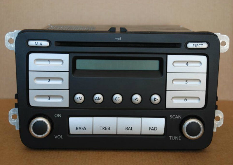 volkswagen vw premium  cd mp player radio stereo jetta passat  kd ebay