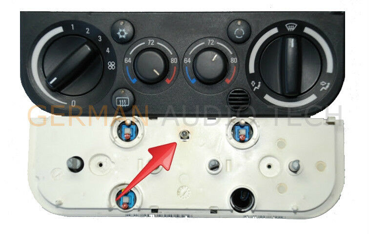 Remove climate control s from a bmw series