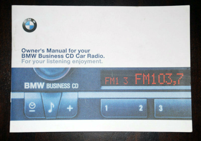 bmw e46 business cd cd53 radio stereo 1999 2006. Black Bedroom Furniture Sets. Home Design Ideas
