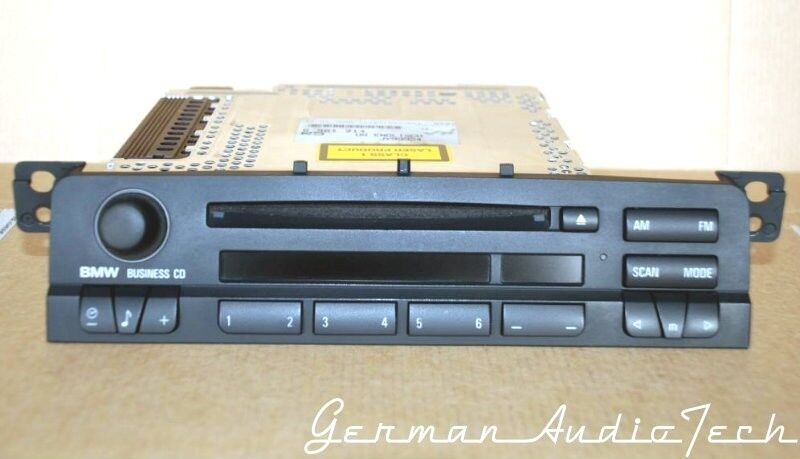 bmw e46 business cd mp3 aux player radio cd53 2002 2003. Black Bedroom Furniture Sets. Home Design Ideas