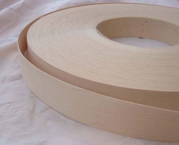 Maple Iron On Edging Pre Glued Real Wood Veneer Tape 22mm