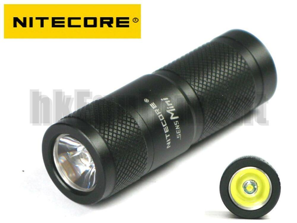 NITECORE SENS Mini CREE XP-G R5 LED CR2 Flashlight ...